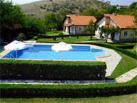 New construction - development of 4 villas with pool