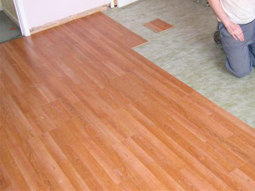 Laminated woodlooring