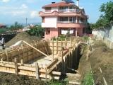 Steel reinforcement of walls