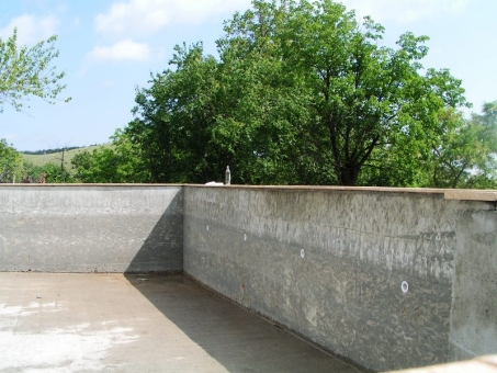 concrete pool is ready for tiling - swimming pool builder in Bulgaria
