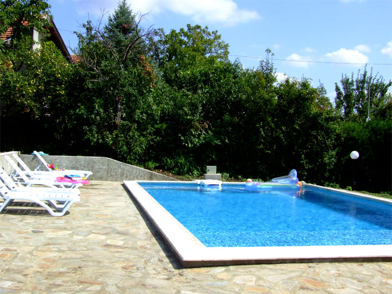 27 - Swimming pool is completed and in use