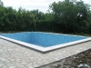 22 -  Swimming pool is tiled. Water can be filled in.