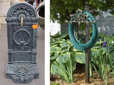 lanscaping wall fountain