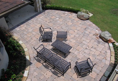 lanscaping patio