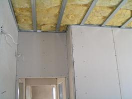 Construction of houses - inside
