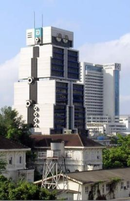 The robot building in Thailand