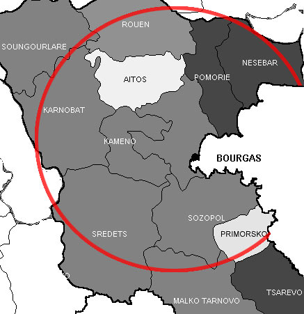 Area of operation
